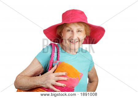 Summer Senior Isolated