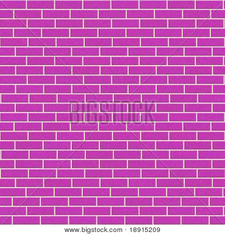pink brick wall, will tile seamlessly as a pattern
