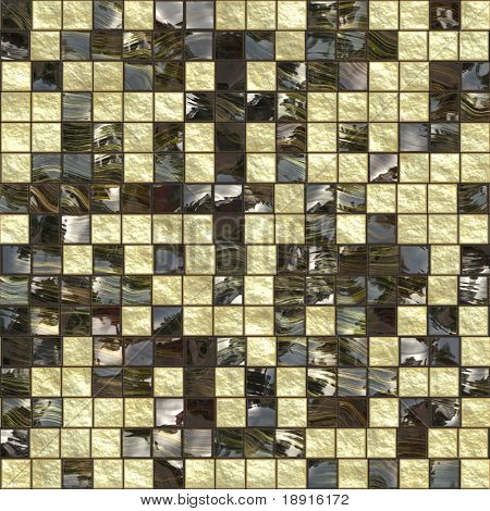 black golden ceramic tiles, will tile seamless as a pattern