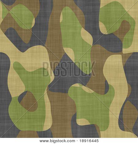 Fondo de tela de camuflaje, perfectamente cultivable