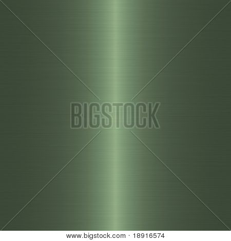 green brushed metal background with vertical highlight
