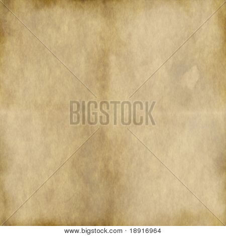 marked, distressed, burnt and old paper or parchment background, plenty of copy space for your text