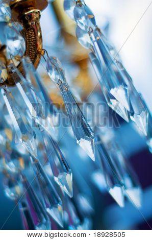 Chrystal chandelier (shallow dof)