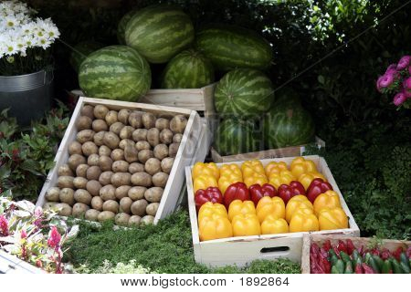 Vegetable Stand 2