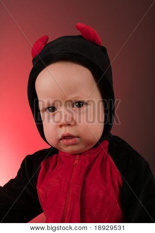 Little baby boy devil