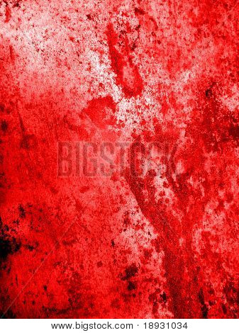 red old grunge background for design work