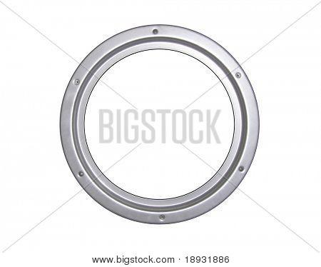 Steel window frame, illuminator