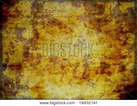 Old burnt paper background