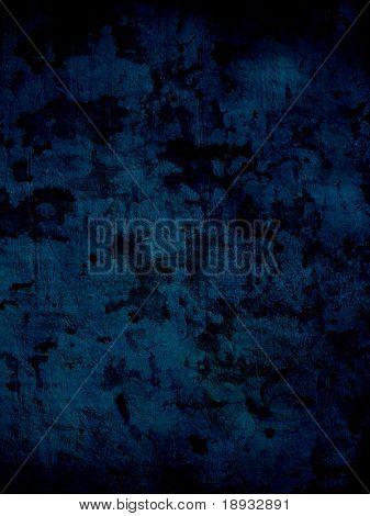 Dark blue grunge surface, background