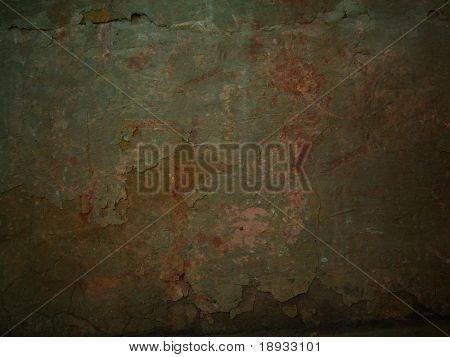 Old peeled stucco, grunge background