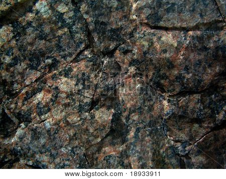 Dark granite stone background