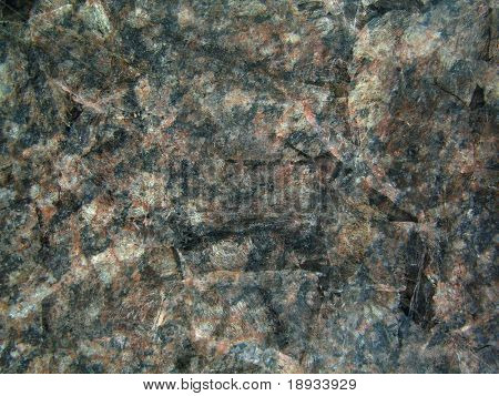 Uneven granite surface, background