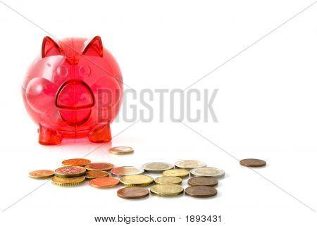 Red Piggy-Bank