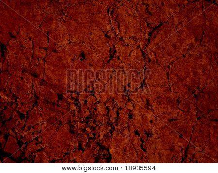 Cracked stone background