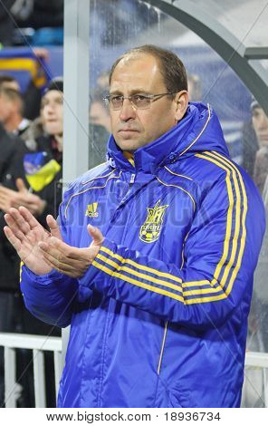 Ukraine (Under-21) manager Pavlo Yakovenko