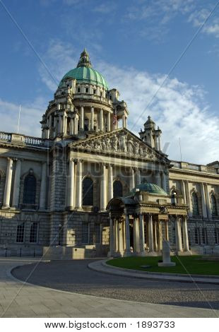 Entrance To Belfast City Hall