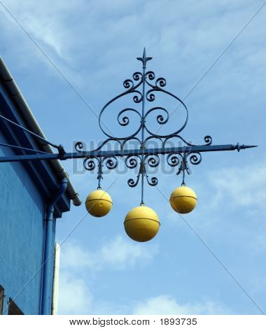 Pawnbrokers Sign