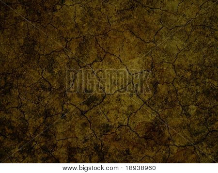 cracky soil background