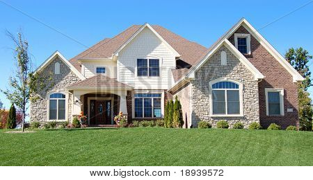 Nice home on a golf course development