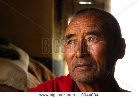 Vida secreta dentro de un monasterio tibetano: monjes jóvenes y viejos, sus ocupaciones