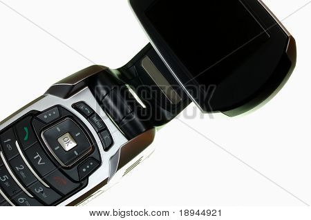 Close-up photo of mobile TV phone