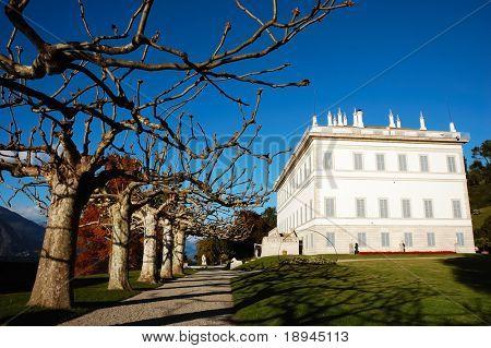 Ancient aristocratic italian villa on Como Lake, Italy