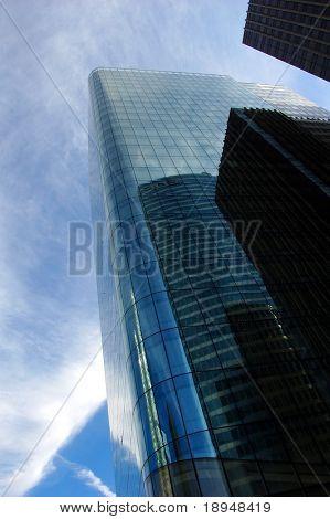 Wolkenkratzer bei Tageslicht