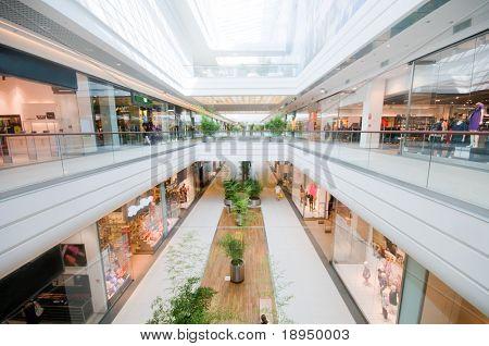 Moderne Shopping-Mall. Einkaufszentrum