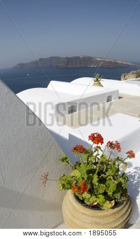 Classic Greek Island Architecture
