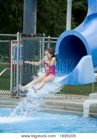 Morgan Takes The Slide