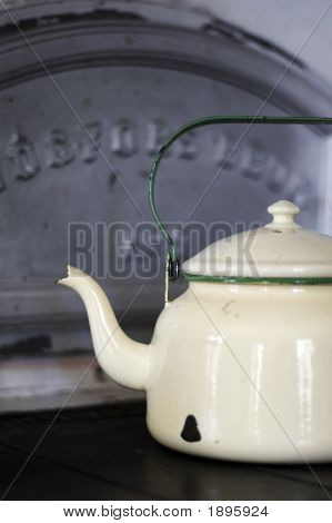 Coffee Pot And Bread Oven