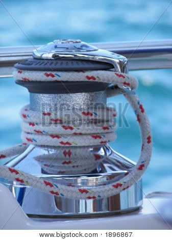 Shiny Sailing Winch