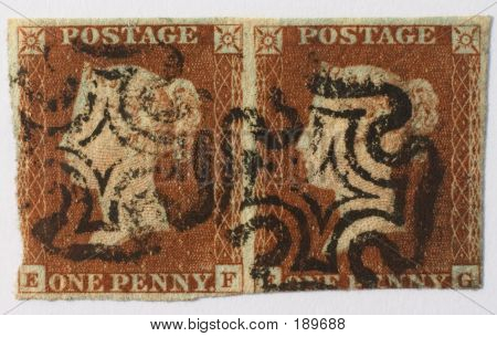 Penny Red Pair