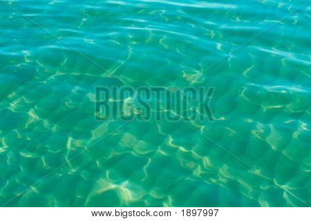 Green Water Background
