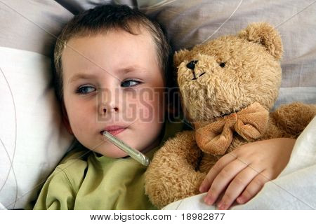 ill child