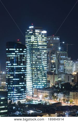 Tel Aviv Central business district - Tel Aviv Office Building