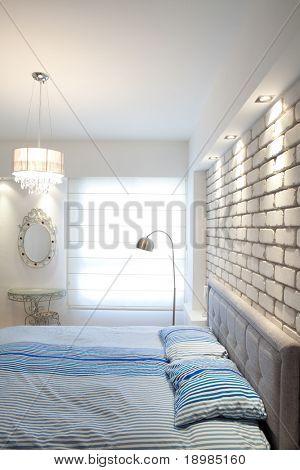 Modern luxury  bedroom  /  Hotel Room