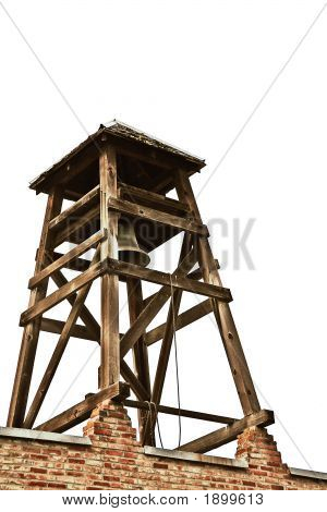 Old Bell Tower Isolated