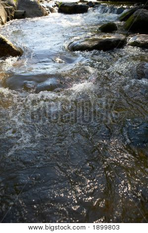 Little Waters With Many Stones And Rocks