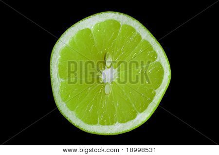 Crossection of Grapefruit