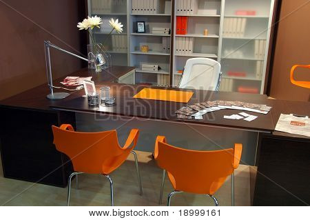 Modern Brown office