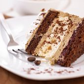 stock photo of torte  - Coffee Cake - JPG