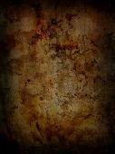 Dark grunge rusty background