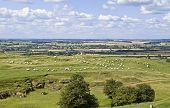Warwickshire Countryside poster