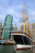 South Street Seaport in New York City