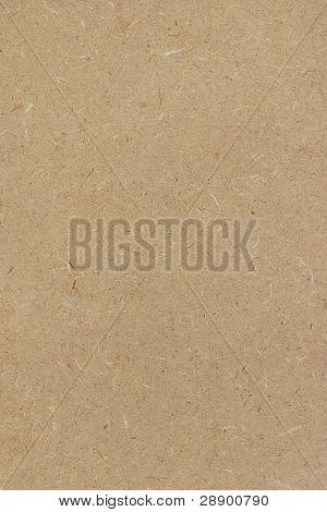 Brown paper fiber board background