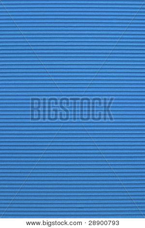Blue corrugated color paper background
