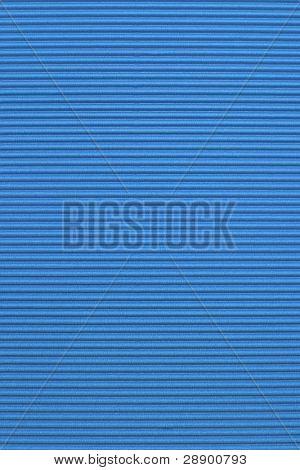 Blue corrugated color paper background