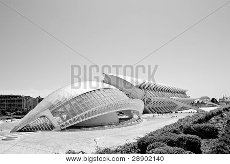 Odd structures at Valencia, Spain.