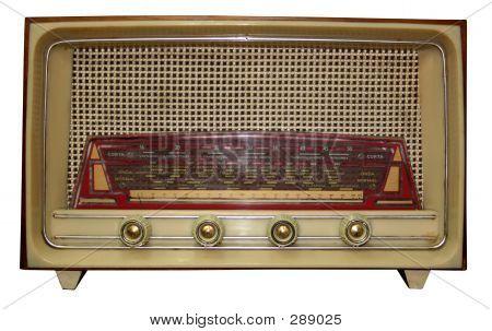 Vintage Radio W/ Path